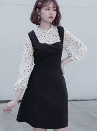 Váy yếm Hàn Quốc