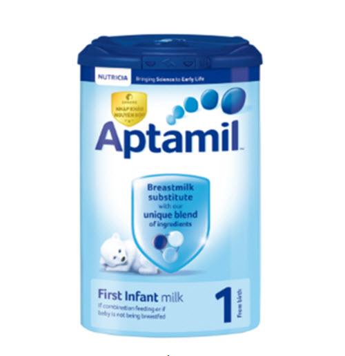 Sữa Aptamil số 1 dành cho trẻ sơ sinh