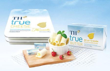 bơ th true milk