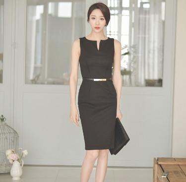 Đầm công sở Hàn Quốc cô chủ nhỏ
