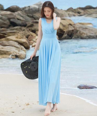 Đầm Maxi đi biển đẹp