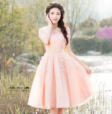 Đầm xòe công chúa đẹp