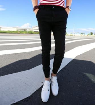 Quần jogger jeans đen