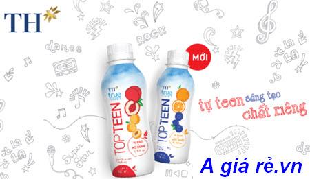 Sữa chua uống tiệt trùng TH True Yogurt Top Teen