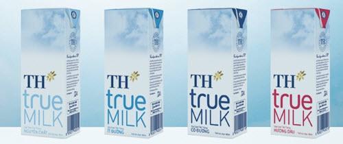 Sữa tươi tiệt trùng nguyên chấtTH True Milk