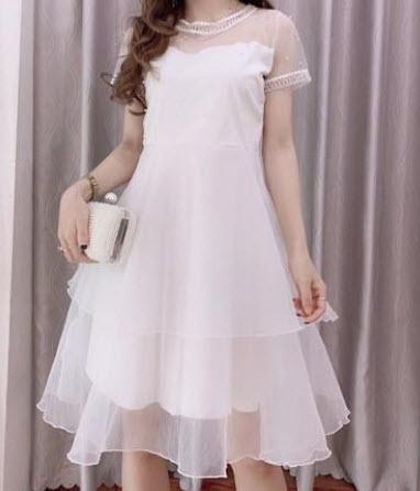 Váy công chúa dự tiệc