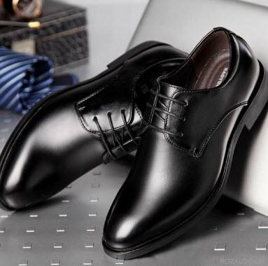 Giày tây màu đen đẹp