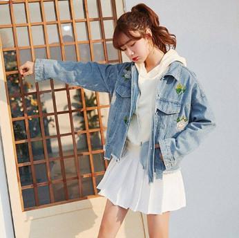 Áo khoác Jean nữ Hàn Quốc