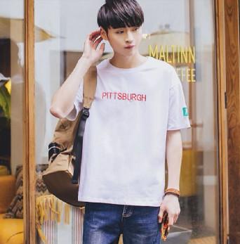 Áo phông nam Hàn Quốc cổ tròn