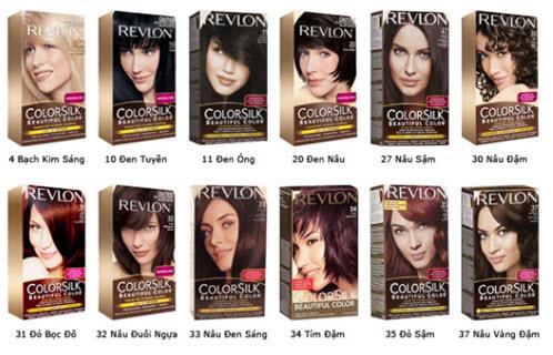 thuốc nhuộm tóc nào tốt và an toàn