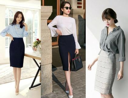 Chân váy dài Hàn Quốc