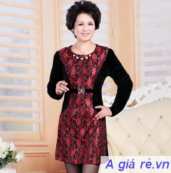 Đầm sang trọng cho tuổi trung niên