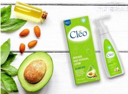 Kem bơ tẩy lông Cleo
