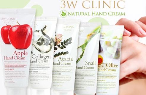 kem dưỡng da tay 3w clinic có tốt không