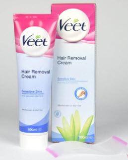 Kem tẩy lông Veet cho da nhạy cảm