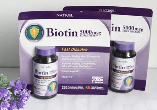 Thuốc mọc tóc Biotin 5000mcg