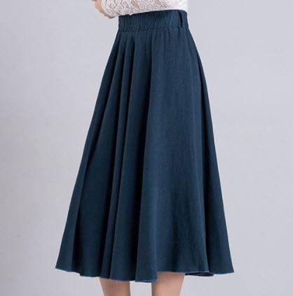 Chân váy dài đẹp