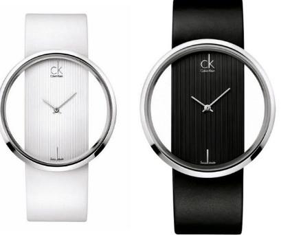 Đồng hồ CK nữ mặt tròn