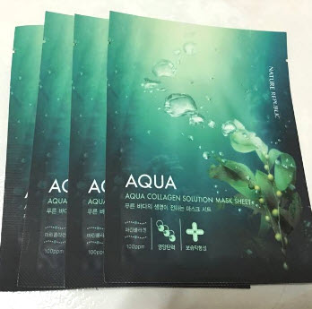 Mặt nạ Nature Republic Marine Aqua Collagen Mask