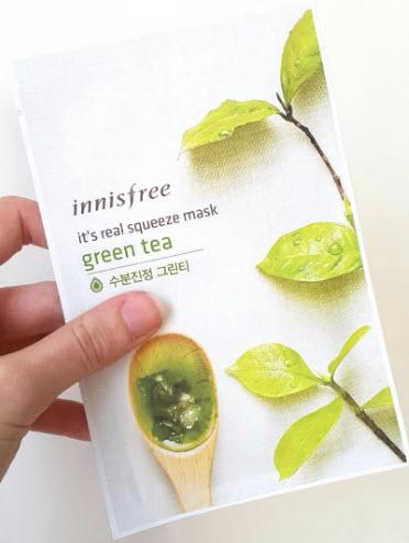Mặt nạ giấy Innisfree trà xanh