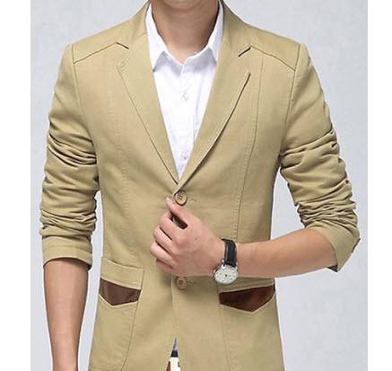 Áo khoác Kaki nam giả vest