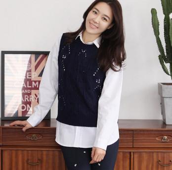 Áo len gile nữ đẹp