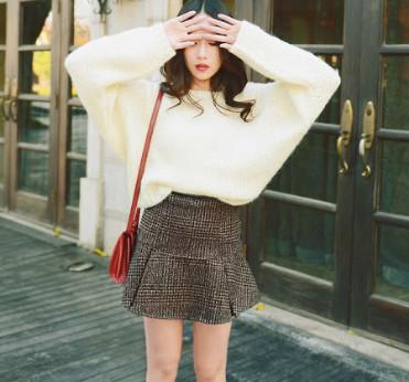 Áo len lông cừu nữ