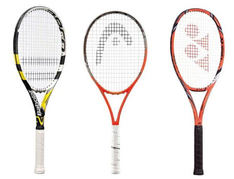 Các loại vợt tennis