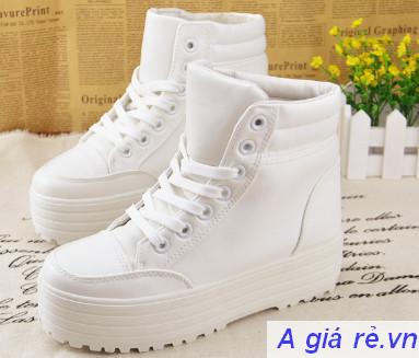 Giày bata nữ cổ cao