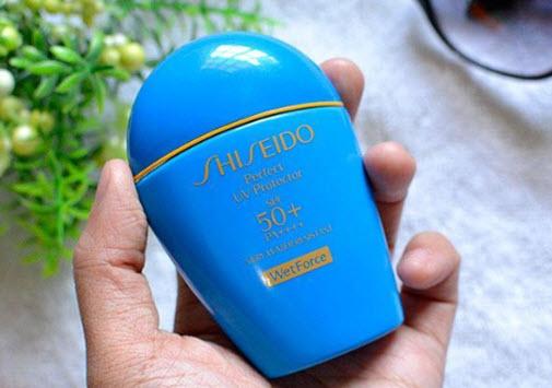 Kem chống nắng Shiseido WetForce