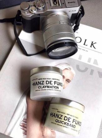 Sáp vuốt tóc Hanz De Fuko Quicksand