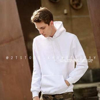 Áo hoodie nam trơn