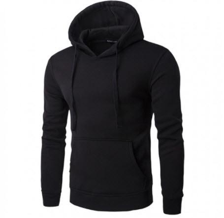 Áo khoác hoodie trơn nam