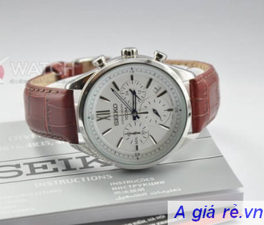 Đồng hồ Seiko dây da