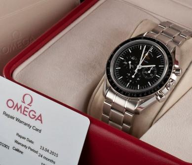 Cách nhận biết đồng hồ Omega