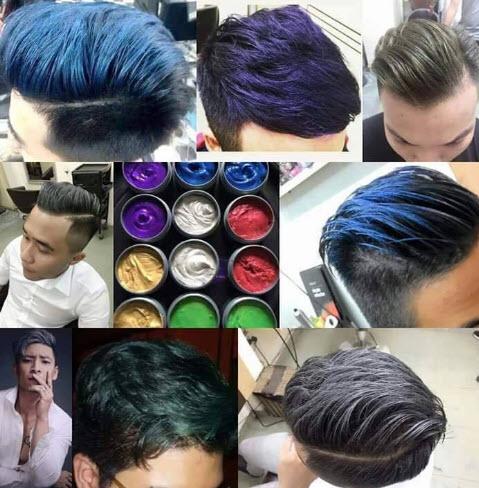 Sáp vuốt tóc màu