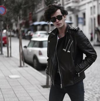 Áo khoác da nam Biker Jacket