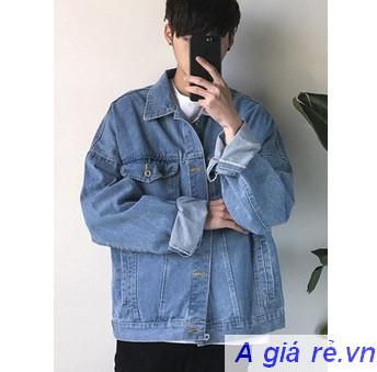 Phối đồ với áo khoác Jean