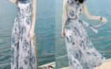 Váy Maxi đi biển