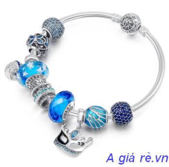 Vòng tay Pandora màu xanh