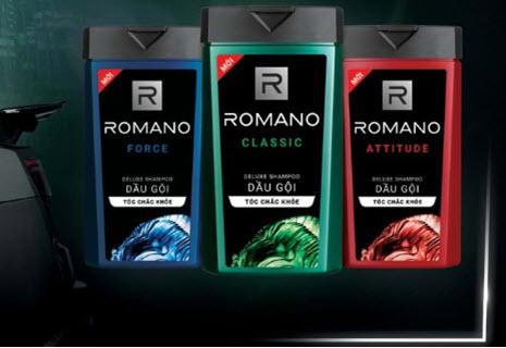 Dầu gội Romano phiên bản mới