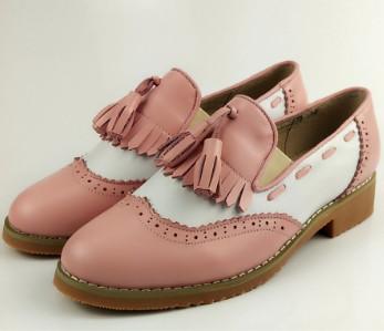 Giày Oxford nữ vintage