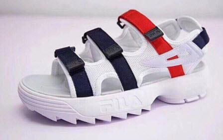 Giày Sandal đế cao Fila