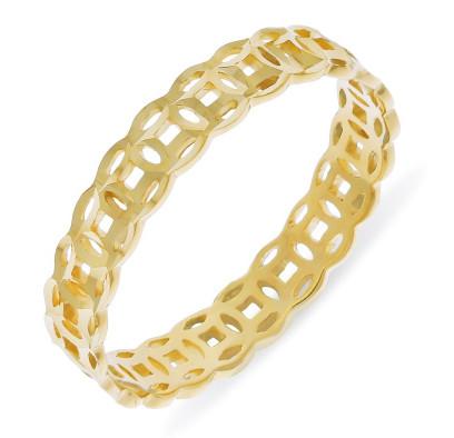 Nhẫn vàng nam họa tiết