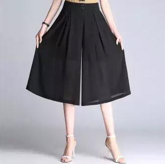 Quần ống rộng giả váy