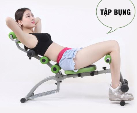 Máy tập cơ bụng Fitness