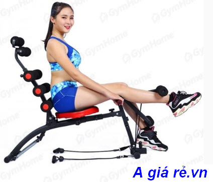 Máy tập bụng New Six Pack Care đạp chân