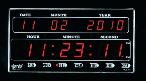 Đồng hồ điện tử treo tường