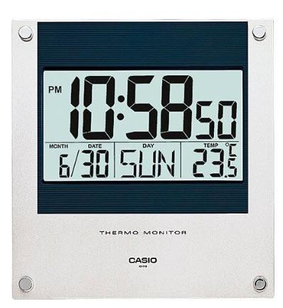 Đồng hồ treo tường điện tử Casio