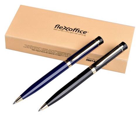 Thiết kế bút bi xanh Flexoffice